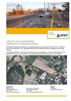 Väg 573 Ava-Olofsfors