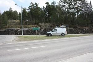 bilskanning E4 Nyköping