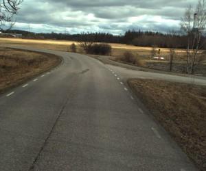 bilskanning Väg 527 Örtagården-Västerås