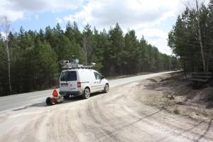 bilskanning Väg201 Hästekulla-Skogarud