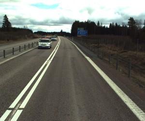 bilskanning E18 Västerås-Sagån