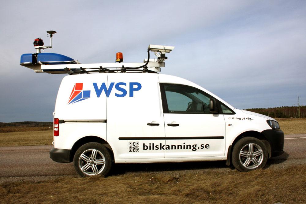 GeoTracker Bilskanning WSP 1
