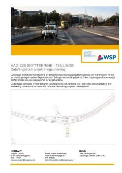 Väg 226 Skyttebrink - Tullinge